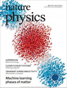 Nature Physics Cover