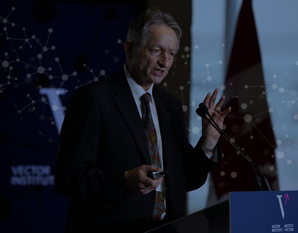Vector Institute's Chief Scientific Advisor, Dr. Geoffrey Hinton, receives ACM A.M. Turing Award alongside Dr. Yoshua Bengio and Dr. Yann LeCun.
