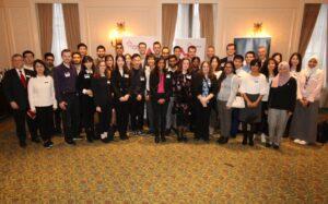 2018-19 Vector Scholarship in AI recipients