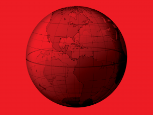 Red Globe Graphic