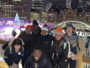 Group Photo In Downtown Toronto