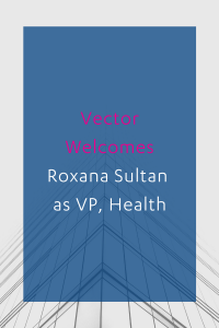 Vector Roxana Sultan Health Announcement