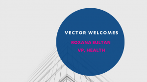 Vector Health announcement graphic