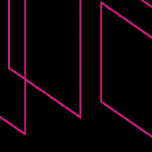 Pink Graphic Overlay