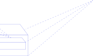 blue graphic overlay
